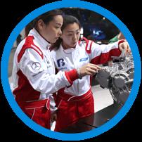 汽车企业维修人员汽车4S店技术支持